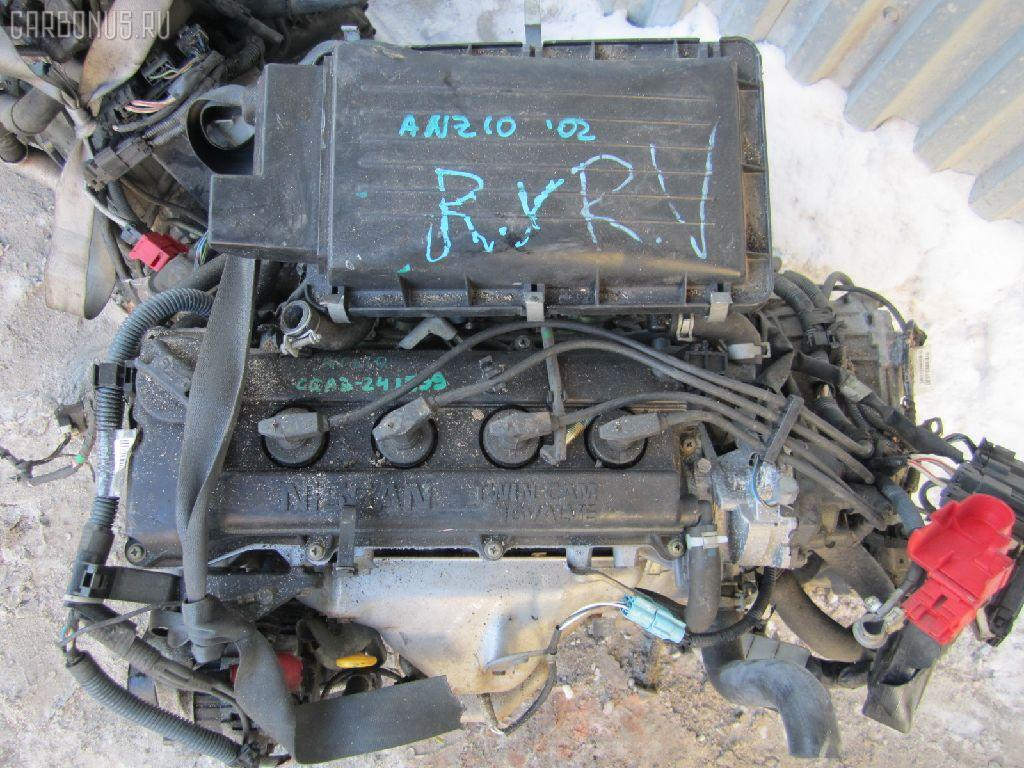 Двигатель NISSAN CUBE ANZ10 CGA3DE. Фото 10