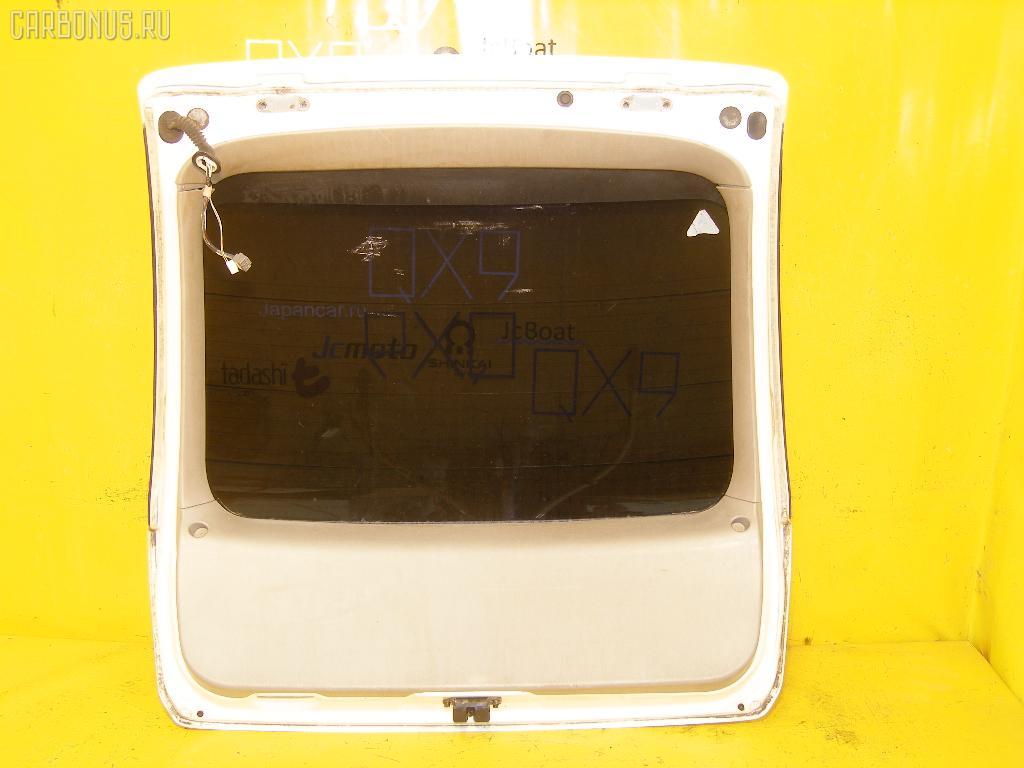 Дверь задняя TOYOTA NADIA SXN10. Фото 4