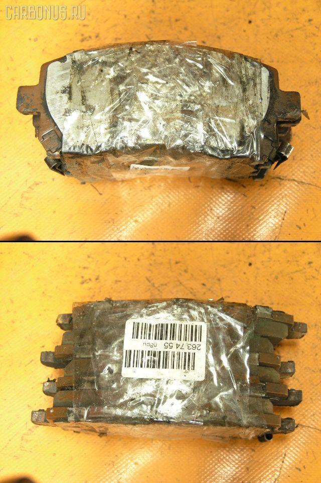 Тормозные колодки SUBARU LEGACY LANCASTER BH9 EJ25. Фото 6