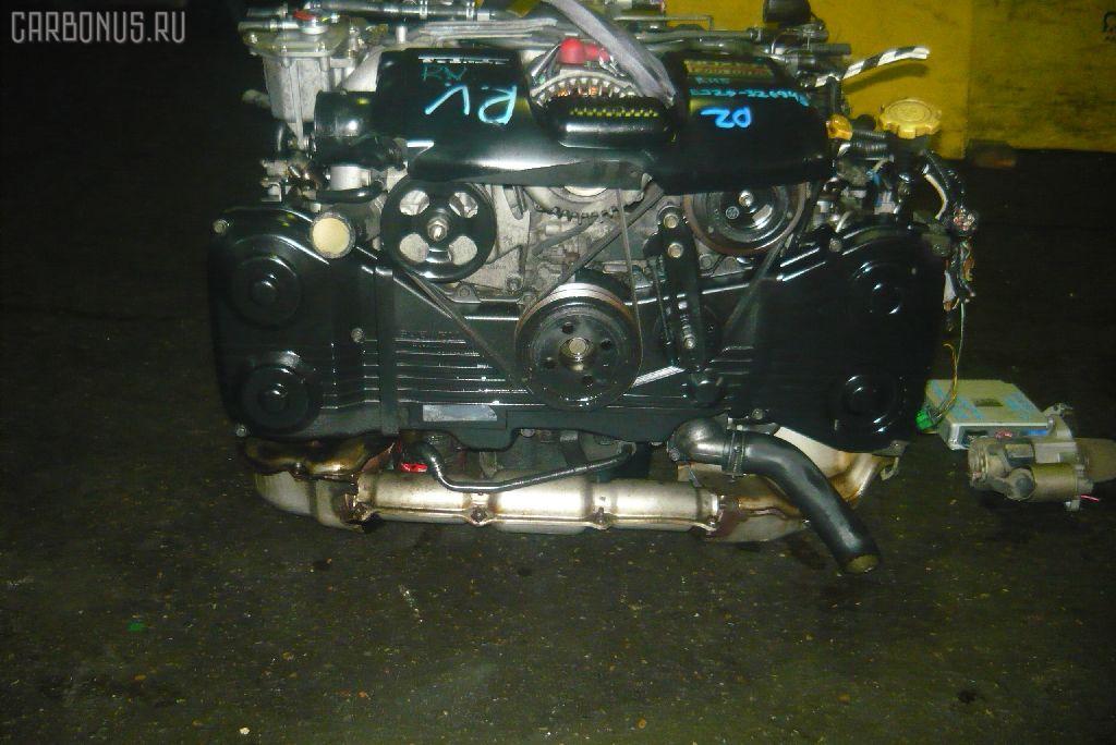 Двигатель SUBARU LEGACY WAGON BH5 EJ208-TT. Фото 3