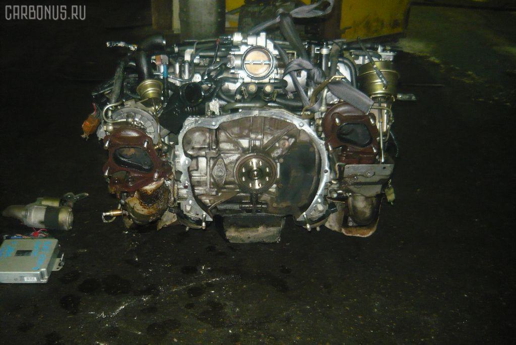 Двигатель SUBARU LEGACY WAGON BH5 EJ208-TT. Фото 6