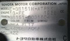 Стеклоподъемный механизм TOYOTA CROWN GS151 Фото 2