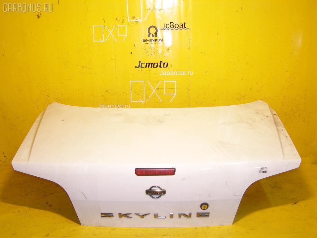 Крышка багажника NISSAN SKYLINE HR34. Фото 3