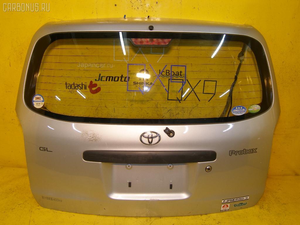 Дверь задняя TOYOTA PROBOX NCP51V. Фото 2