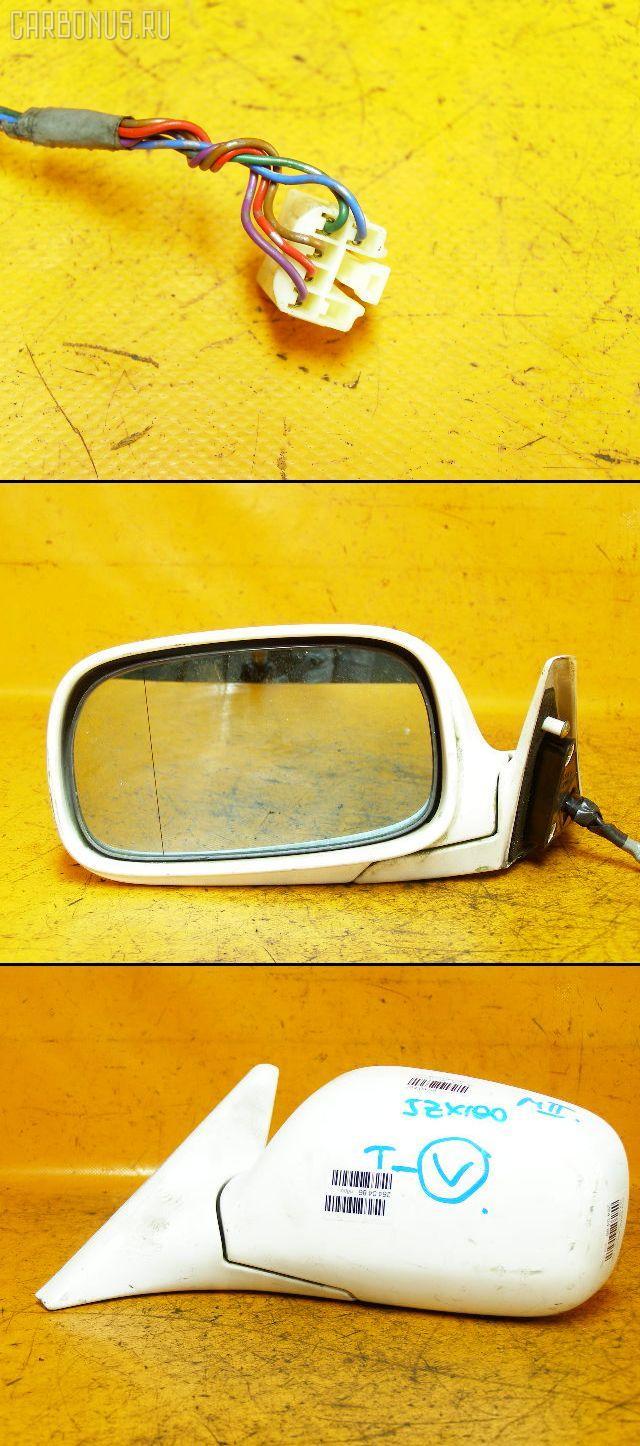 Зеркало двери боковой TOYOTA MARK II JZX100. Фото 9