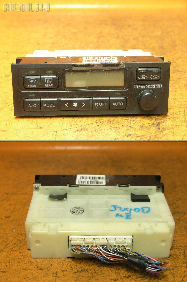 Блок управления климатконтроля TOYOTA MARK II JZX100 1JZ-GTE. Фото 1