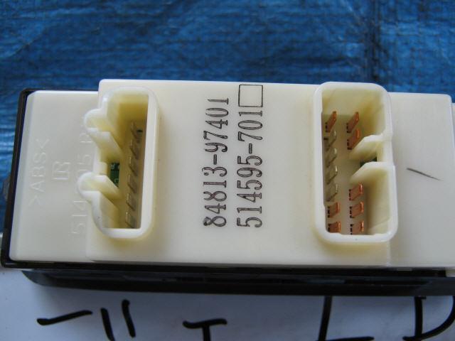 Блок упр-я стеклоподъемниками TOYOTA DUET M110A. Фото 3