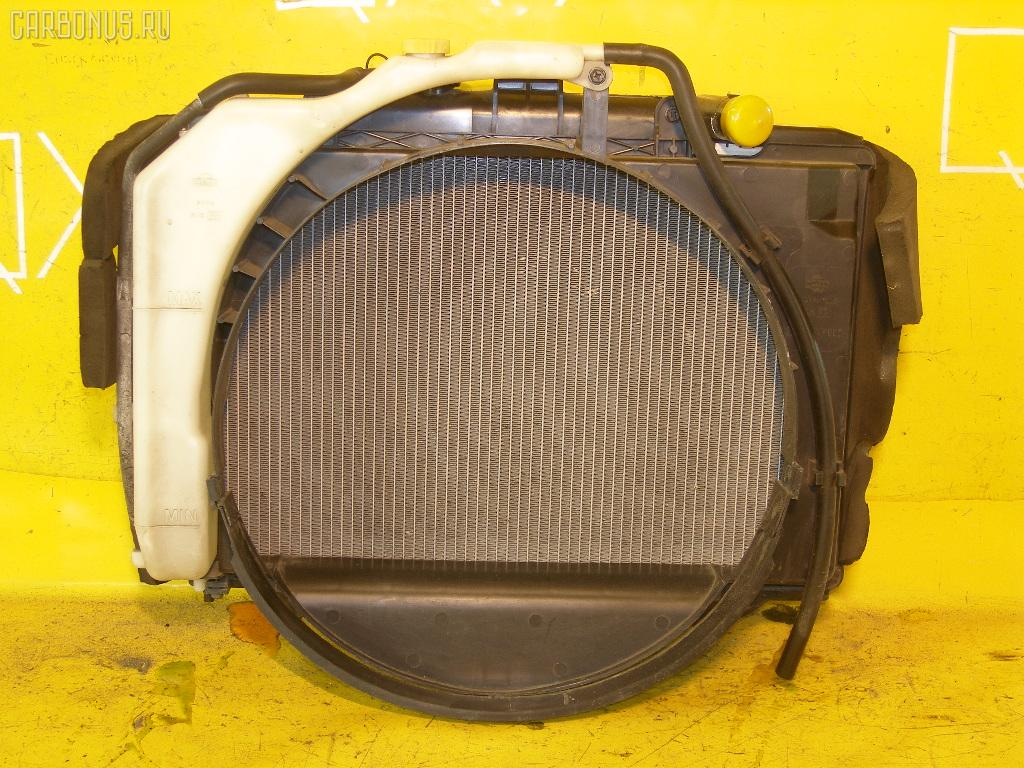Радиатор ДВС NISSAN CARAVAN VPE25 KA20DE. Фото 4