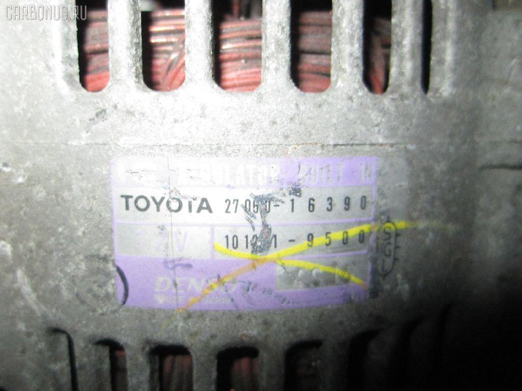 Генератор TOYOTA AT211 7A-FE. Фото 2