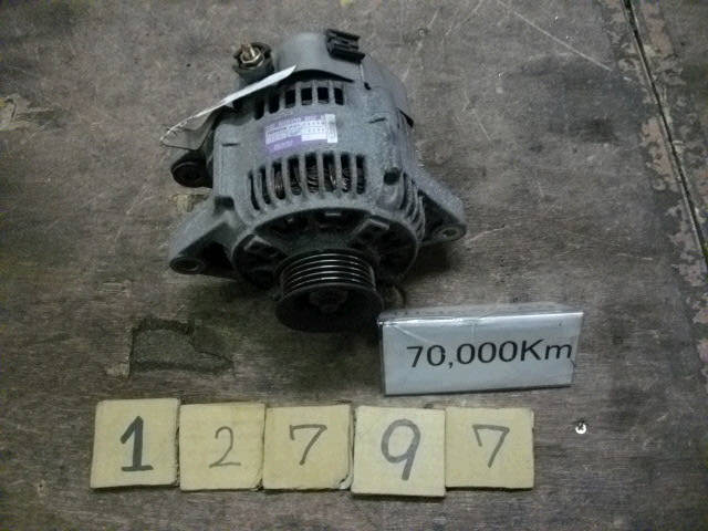 Генератор TOYOTA AT211 7A-FE. Фото 9