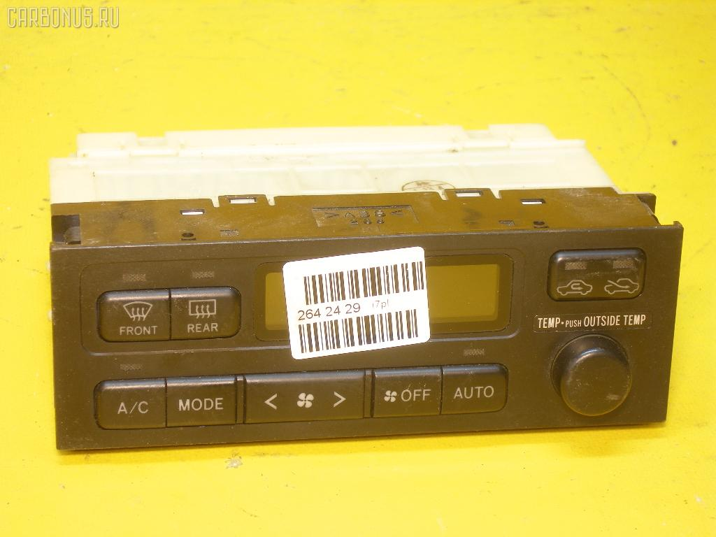 Блок управления климатконтроля TOYOTA CHASER JZX100 1JZ-GTE. Фото 3