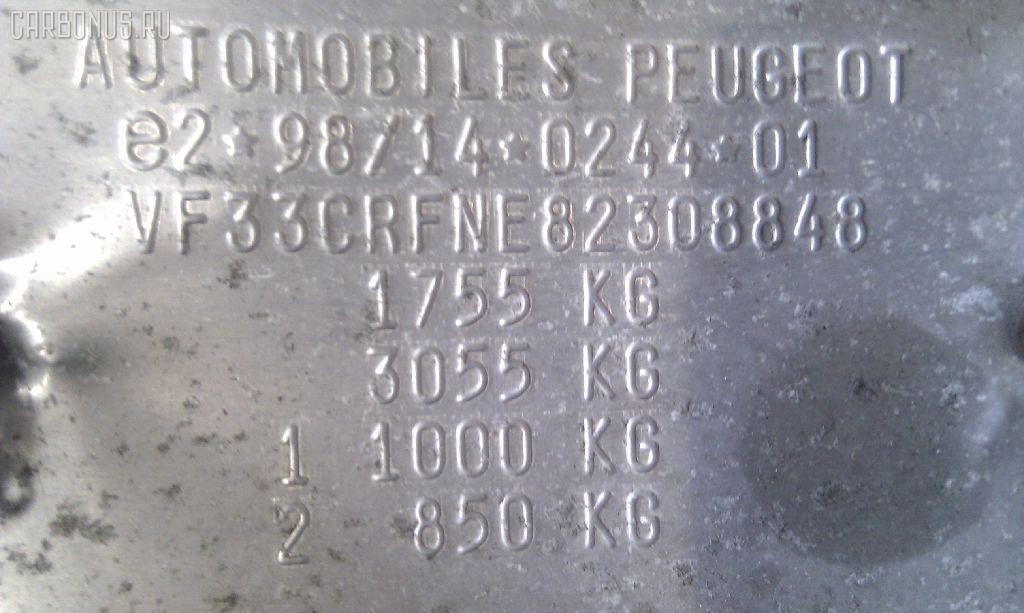 Петля капота PEUGEOT 307 3CRFN Фото 4