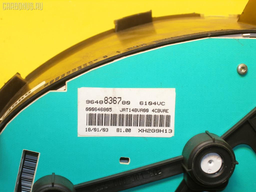 Спидометр PEUGEOT 206 SW 2KNFU NFU-TU5JP4 Фото 3