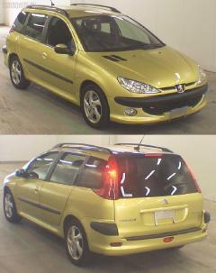 Жесткость бампера Peugeot 206 sw 2KNFU Фото 2
