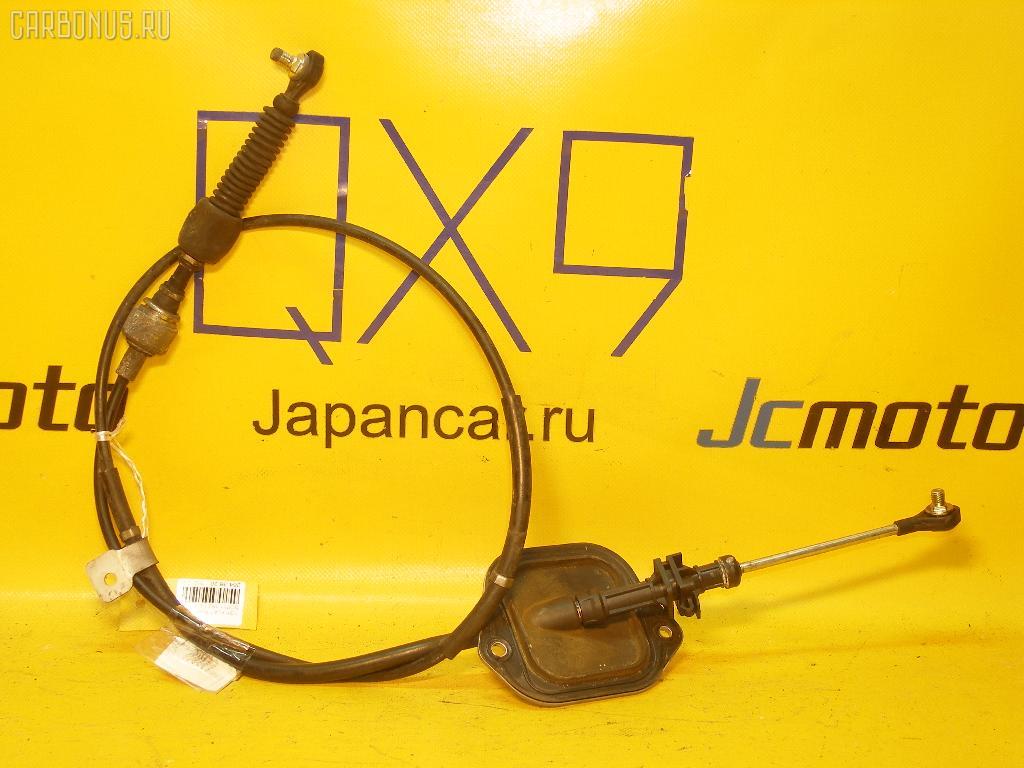 Тросик на коробку передач TOYOTA PLATZ SCP11 1SZ-FE. Фото 2