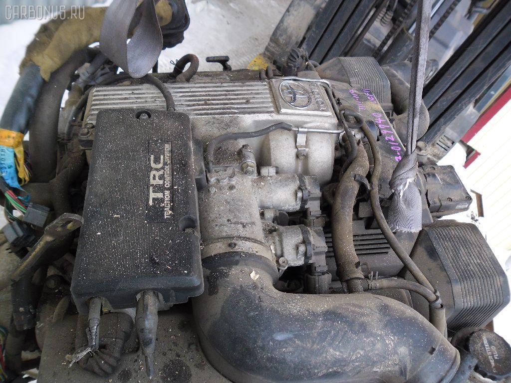 Двигатель TOYOTA CELSIOR UCF10 1UZ-FE. Фото 3