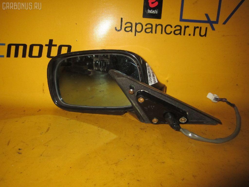 Зеркало двери боковой TOYOTA MARK II JZX101. Фото 2