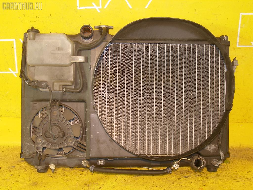 Радиатор ДВС TOYOTA MARK II JZX101 2JZ-GE. Фото 2