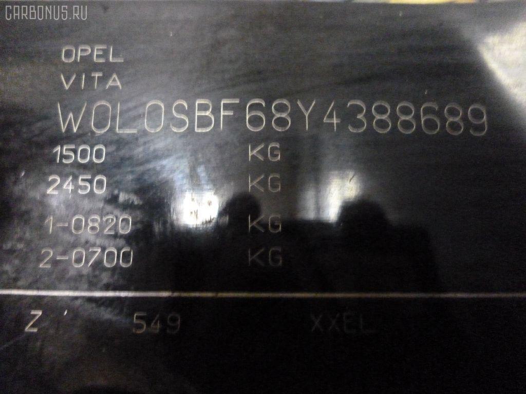 Привод OPEL VITA W0L0SBF68 C14SEL Фото 3