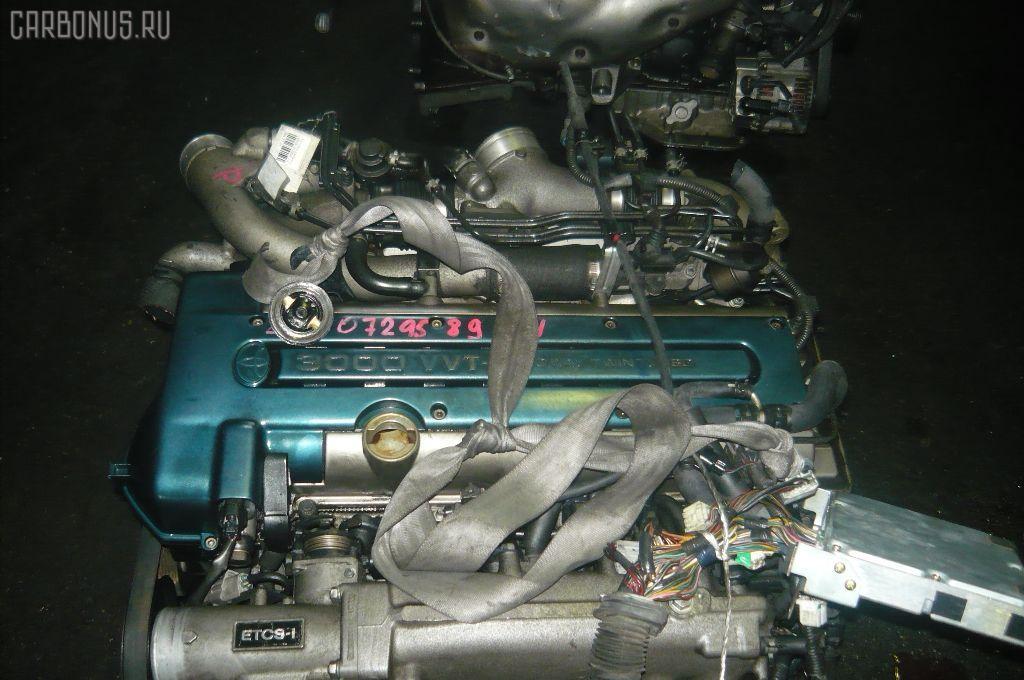 Двигатель TOYOTA ARISTO JZS161 2JZ-GTE. Фото 3