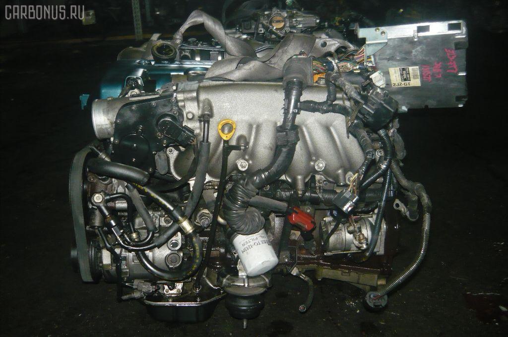 Двигатель TOYOTA ARISTO JZS161 2JZ-GTE. Фото 4