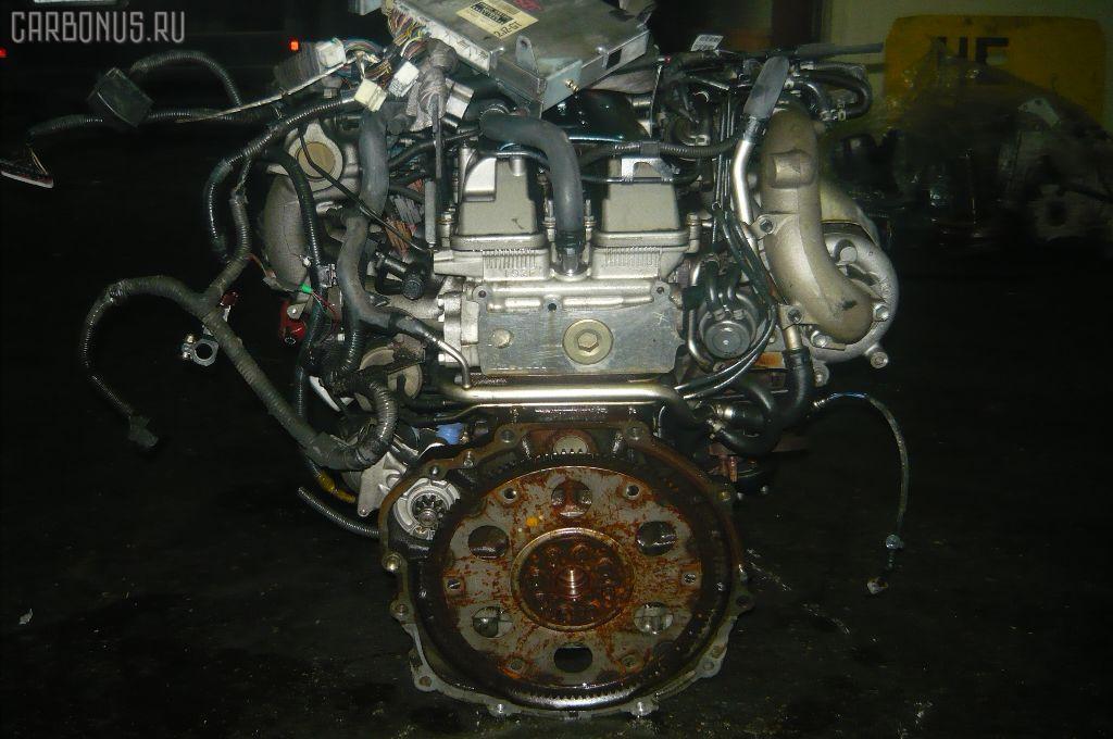 Двигатель TOYOTA ARISTO JZS161 2JZ-GTE. Фото 5