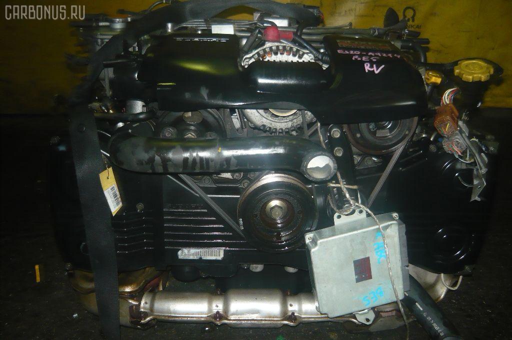 Двигатель SUBARU LEGACY B4 BE5 EJ206-TT. Фото 3
