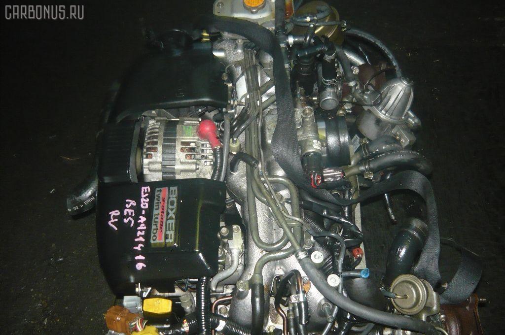 Двигатель SUBARU LEGACY B4 BE5 EJ206-TT. Фото 5