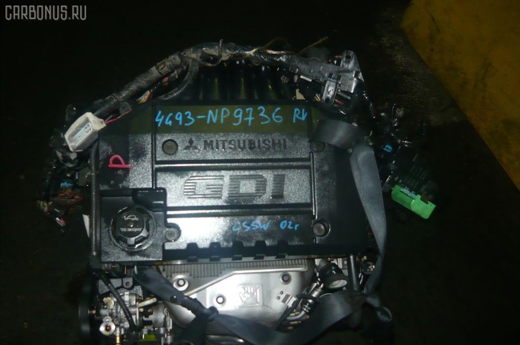Двигатель MITSUBISHI LANCER CEDIA WAGON CS5W 4G93-T. Фото 3