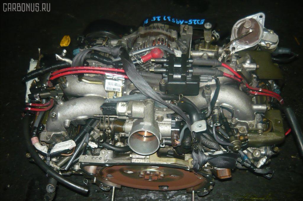 Двигатель SUBARU LEGACY LANCASTER BH9 EJ25. Фото 7