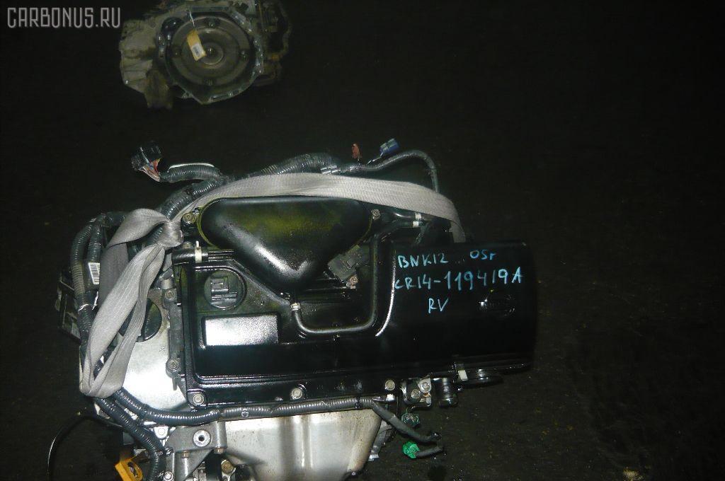 Двигатель NISSAN MARCH BNK12 CR14DE. Фото 2