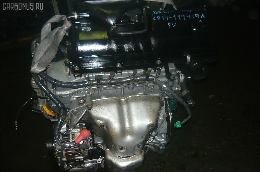 Двигатель NISSAN MARCH BNK12 CR14DE. Фото 3
