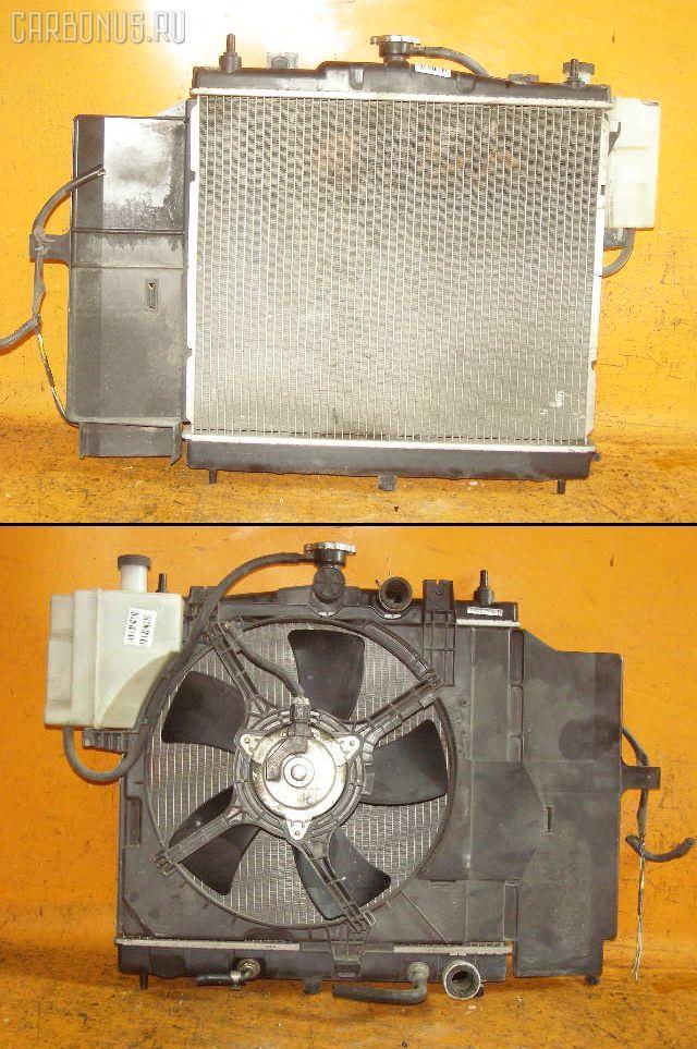 Радиатор ДВС NISSAN MARCH BNK12 CR14DE. Фото 2