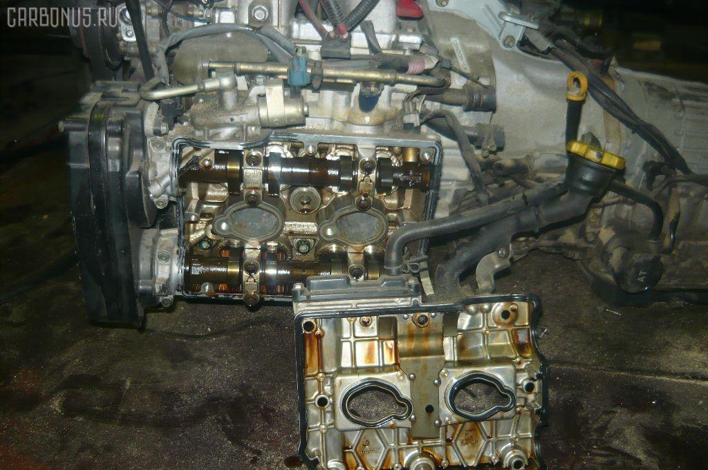 Двигатель SUBARU LEGACY LANCASTER BH9 EJ25. Фото 8