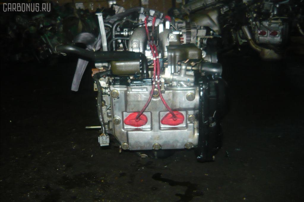 Двигатель SUBARU LEGACY LANCASTER BH9 EJ25. Фото 10