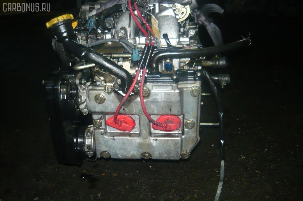 Двигатель SUBARU LEGACY LANCASTER BH9 EJ25. Фото 11