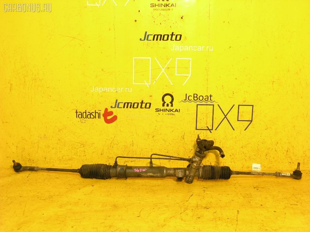 Рулевая рейка MAZDA BONGO FRIENDEE SG5W J5-D. Фото 1