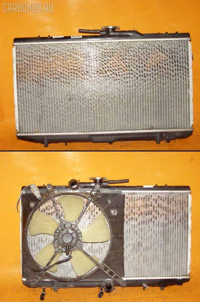 Радиатор ДВС TOYOTA STARLET EP82 4E-FE. Фото 1