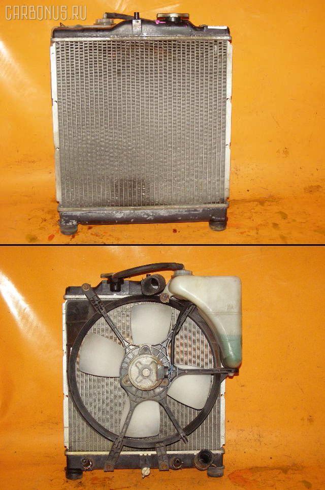 Радиатор ДВС HONDA CAPA GA4 D15B. Фото 4