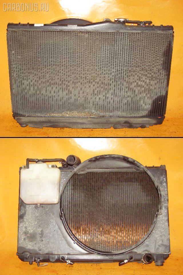 Радиатор ДВС TOYOTA CHASER GX90 1G-FE. Фото 4