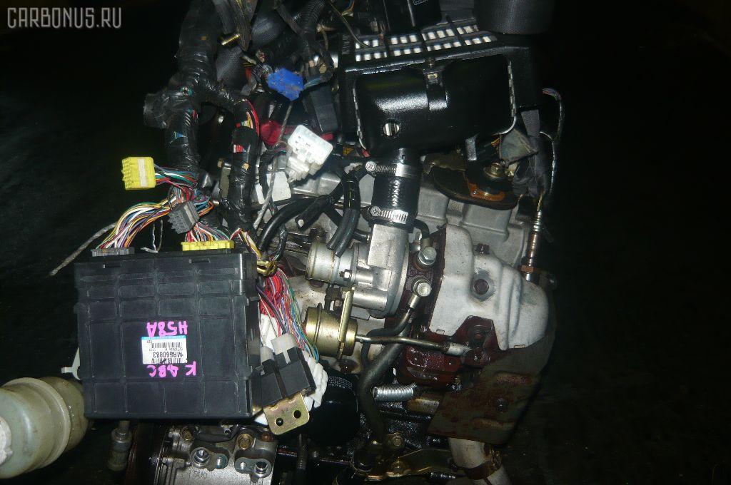 Двигатель MITSUBISHI PAJERO MINI H58A 4A30T. Фото 8