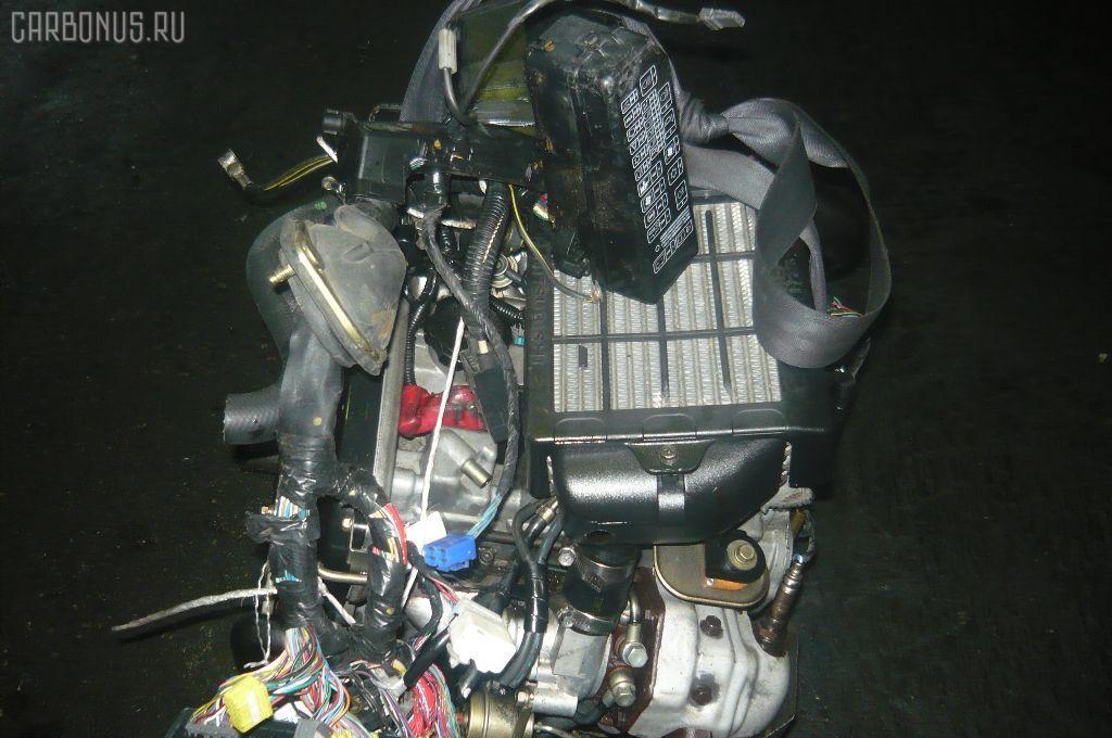 Двигатель MITSUBISHI PAJERO MINI H58A 4A30T. Фото 9