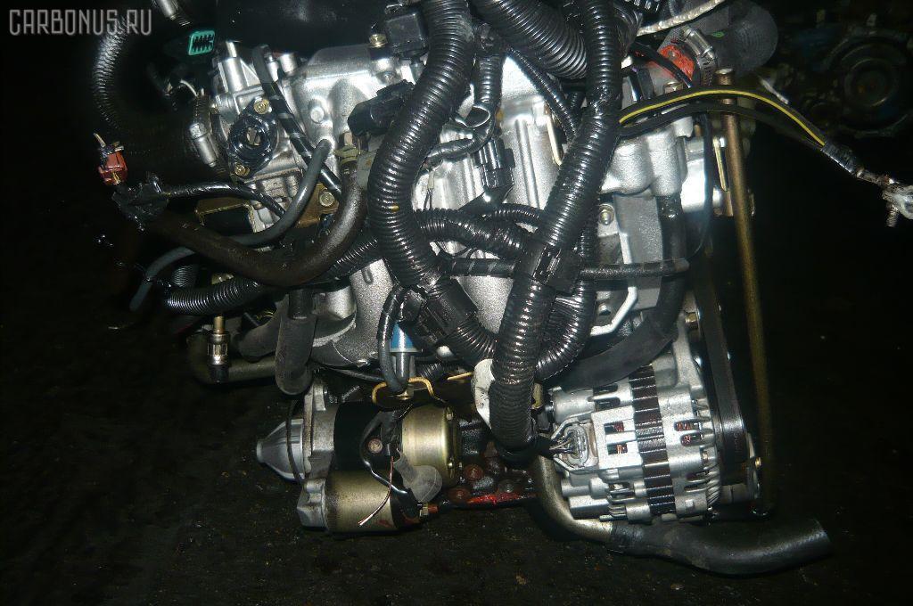 Двигатель MITSUBISHI PAJERO MINI H58A 4A30T. Фото 10