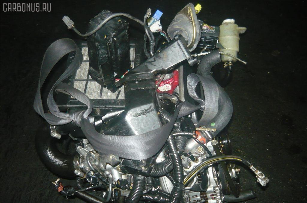 Двигатель MITSUBISHI PAJERO MINI H58A 4A30T. Фото 11