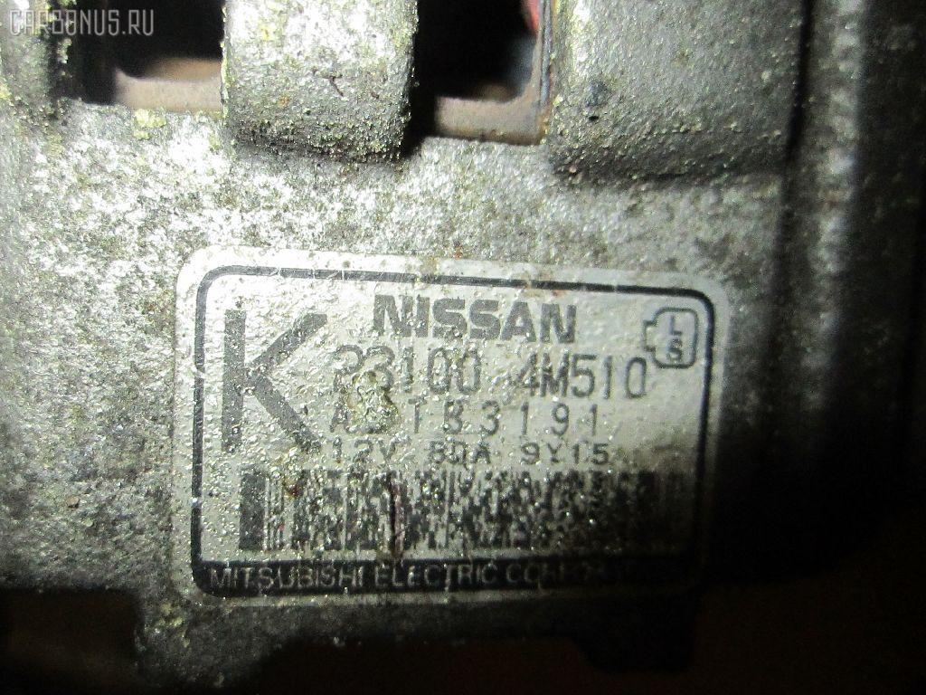Генератор NISSAN AVENIR W11 QG18DE. Фото 1