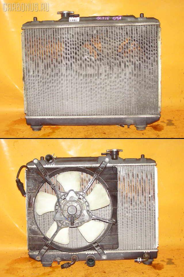 Радиатор ДВС SUZUKI CULTUS GC21S G15A. Фото 5