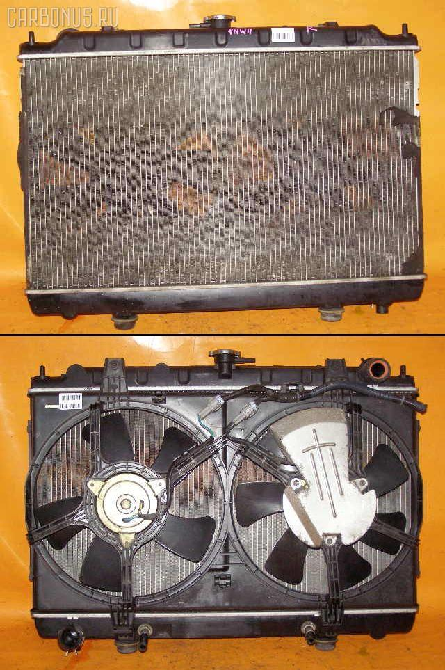 Радиатор ДВС NISSAN AVENIR PNW11 SR20DE. Фото 1