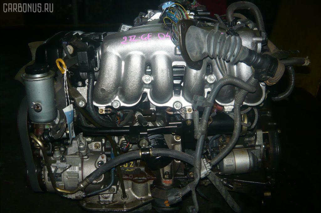 Двигатель TOYOTA MARK II JZX101 2JZ-GE. Фото 2