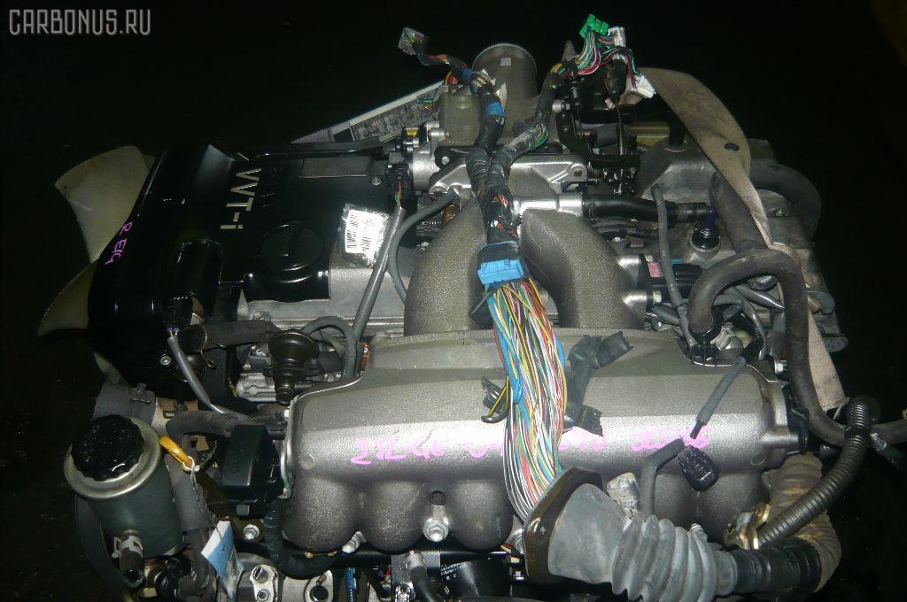 Двигатель TOYOTA MARK II JZX101 2JZ-GE. Фото 3