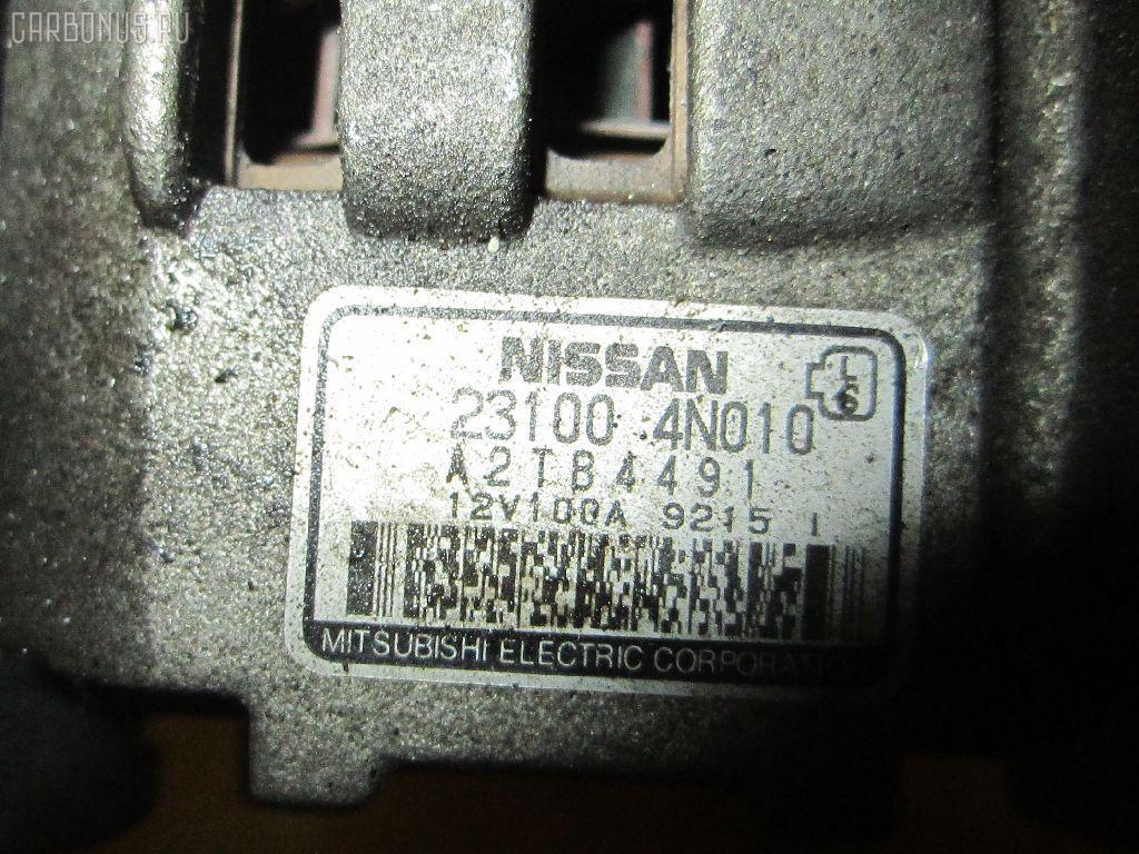 Генератор NISSAN AVENIR PNW11 SR20DE. Фото 4